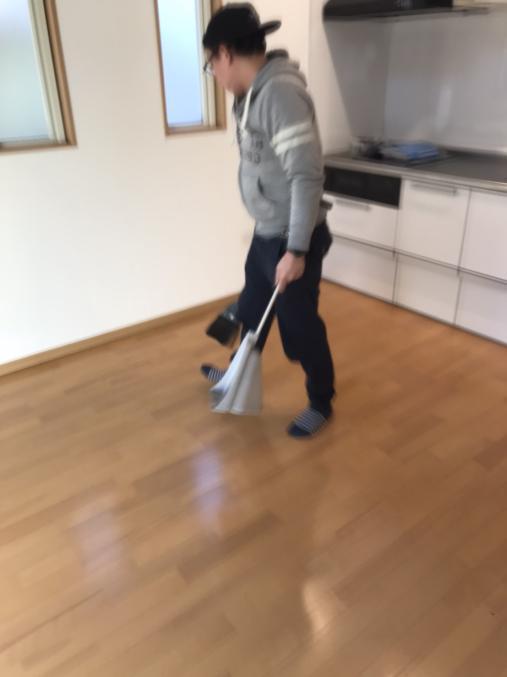 吊り下げ 清掃
