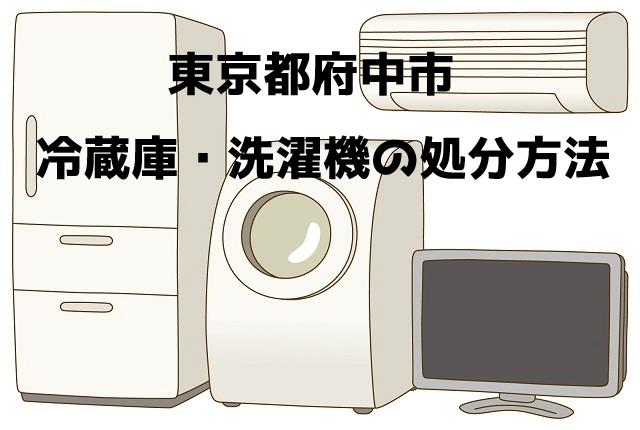 府中市 冷蔵庫洗濯機 不用品回収 おすすめ業者