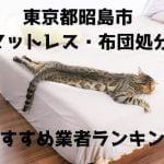 昭島市 マットレス 布団 処分方法