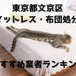 文京区 マットレス 布団 処分方法