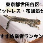 世田谷区 マットレス 布団 処分方法