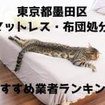 墨田区 マットレス 布団 処分方法