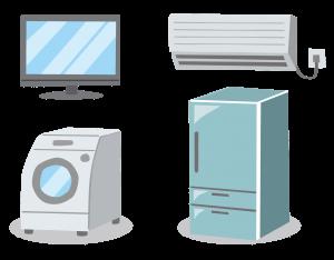 リサイクル対象家電について