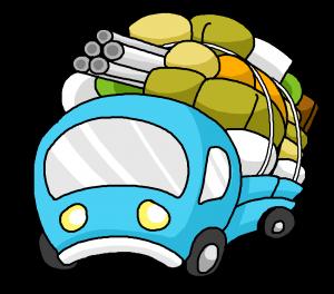 トラック 不用品 過積載